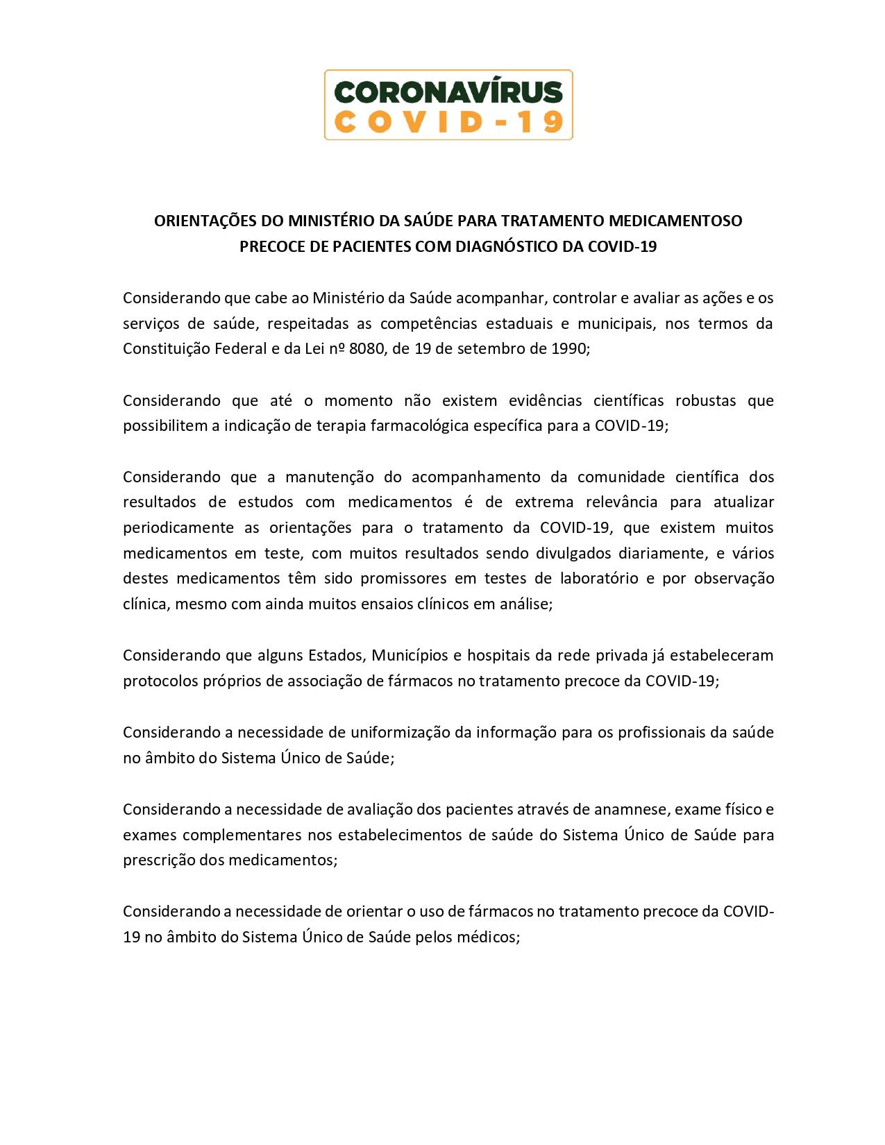 ORIENTAÇÕES DO MINISTÉRIO DA SAÚDE - hidroxi.cloroquina_page-0001