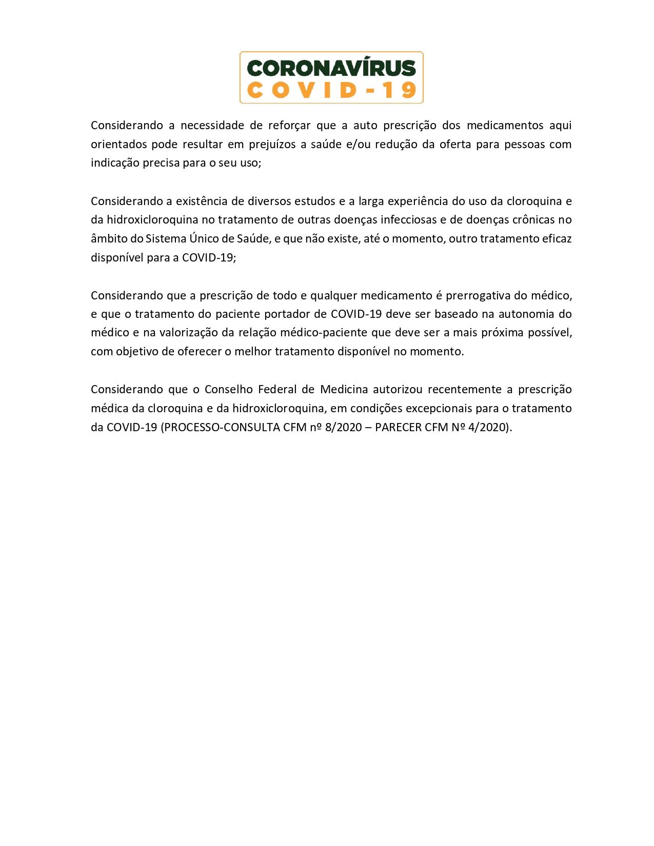 ORIENTAÇÕES DO MINISTÉRIO DA SAÚDE - hidroxi.cloroquina_page-0002